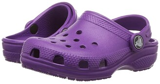 Crocs Classic Clog (Toddler/Little Kid/Big Kid) (Amethyst) Kids Shoes