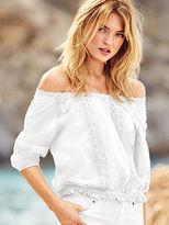 Victoria's Secret Crochet Blouse