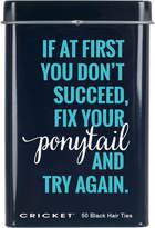 Cricket Fix Your Ponytail Ties Tin