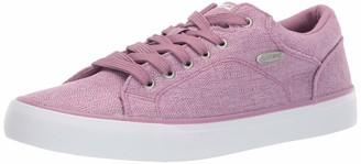 Lugz Women's Regent Lo Linen Sneaker Purple/White 6.5 M US