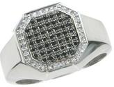 Effy Jewelry Gento Black and White Diamond Ring, 0.57 TCW