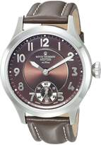 Revue Thommen 16061-3536 Men's Airspeed XLarge Retro Wrist Watch, Dial with Band