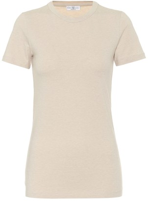 Brunello Cucinelli Stretch-cotton jersey T-shirt