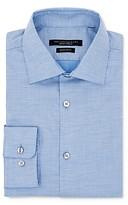John Varvatos Star Usa Micro Solid Wrinkle-Resistant Regular Fit Dress Shirt