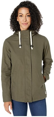 The North Face Shipler Full Zip Hoodie (New Taupe Green) Women's Sweatshirt