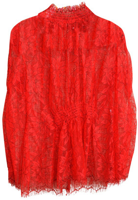 Alice McCall Red Lace Tops