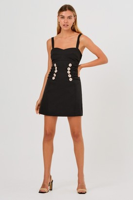 Finders Keepers JENNIFER MINI DRESS Black