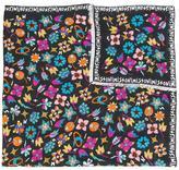 Missoni 'Logo & Flowers' printed scarf