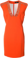 Barbara Bui eyelet-embellished crepe dress - women - Polyester - 4