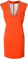 Barbara Bui eyelet-embellished crepe dress - women - Polyester - 6
