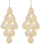 Irene Neuwirth Diamond Collection Women's Nine-Drop Earrings-GOLD, NO COLOR