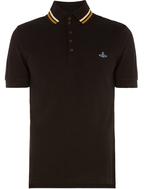 Vivienne Westwood Krall Piquet Polo Shirt Black Size S