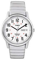 Timex Men's Easy Reader Stainless Steel Watch &