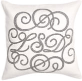 Jonathan Adler LSD Beaded Linen Throw Pillow