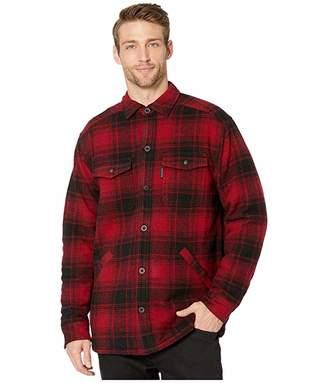 Wolverine Heritage Krause Shirt Jacket (Red Plaid) Men's Coat