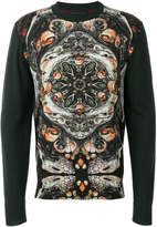 Frankie Morello abstract print jumper