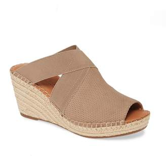 Kenneth Cole Gentle Souls by Colleen Espadrille Wedge Slide Sandal