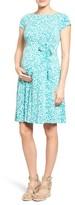 Leota Women's 'Ilana' A-Line Maternity Dress
