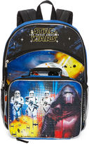 LICENSED PROPERTIES Star Wars The Force Awakens Backpack with Lunchkit - Boys
