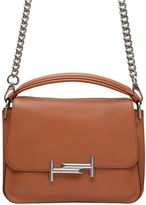 Tod's Small Double T Leather Shoulder Bag