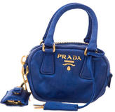 Prada Mini Satin Satchel