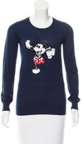 Markus Lupfer Mickey Mouse Sequined Sweater