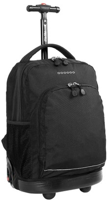 "J World Sunny 17"" Rolling Backpack -"