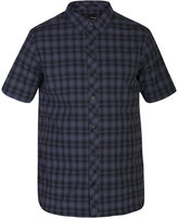 Hurley Men's Short-Sleeve Eli Plaid Shirt