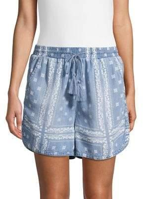 Republic Bandana-Print Drawstring Shorts