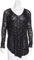Helmut Lang V-Neck Long Sleeve Sweater