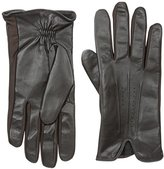 Isotoner Men's Stretch Leather smarTouch Gloves