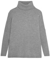 Allude Wool Turtleneck Sweater - Dark gray
