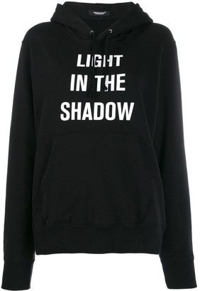 Undercover Light in the Shadow hooded jumper