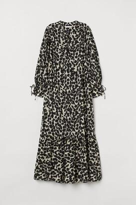 H&M Lyocell Dress - Beige