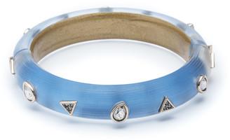 Alexis Bittar Crystal Pear Studded Hinge Bracelet