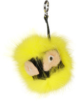 Fendi Monster Fur Keyring