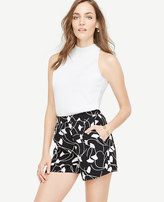 Ann Taylor Ginkgo Pleated Shorts