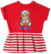 Moschino Sailor Bear Print Cotton Jersey T-Shirt