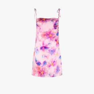 Frankie's Bikinis Margrette floral mini dress
