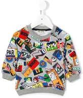 Kenzo badge print sweatshirt