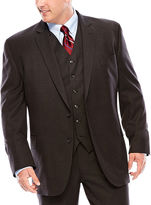 STAFFORD Stafford Travel Charcoal Suit Jacket - Portly