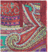 Etro printed scarf - men - Silk/Cotton/Wool - One Size
