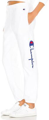 Champion Side Logo Elastic Cuff Pants