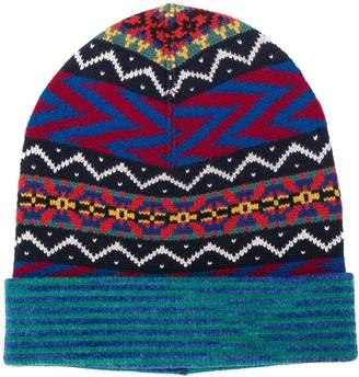 Missoni Patterned Hat