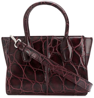 Tod's T Timeless crocodile-effect tote bag