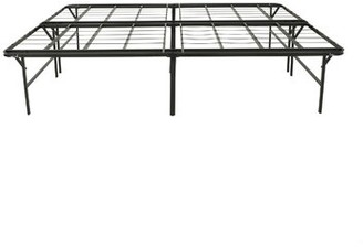 Alwyn Home Destini Queen Iron Bed Frame