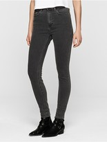 Calvin Klein Faded High Rise Skinny Jeans