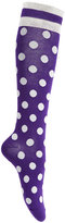 Kate Spade Women's Stripe and Dot Knee-High Socks