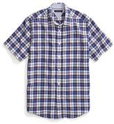 Tommy Hilfiger Regular Fit Short-Sleeve Plaid Shirt