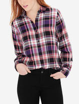 The Limited Plaid Button-Down Shirt